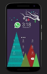 Christmas2017- AppLock Theme