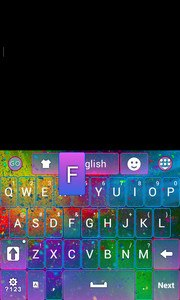 Color Storm Keyboard Theme
