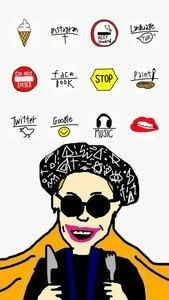 icon wallpaper dressup-CocoPPa