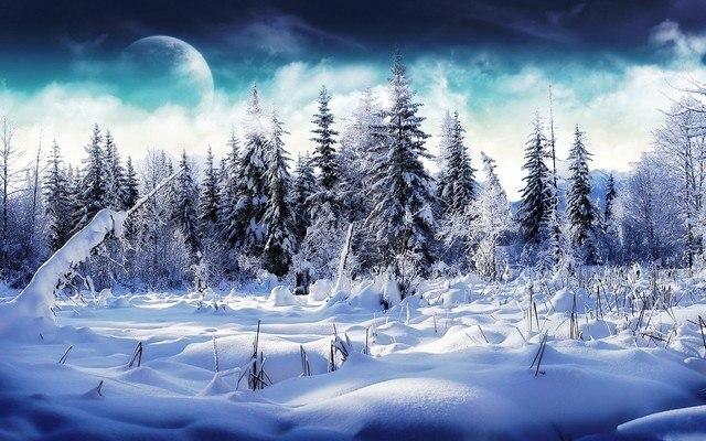 Winter Atlantis