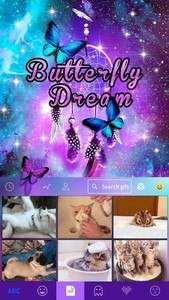 Butterfly Dream Kika Keyboard