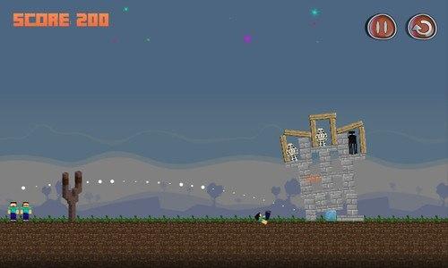 Angry Herobrine MiniCraft FREE