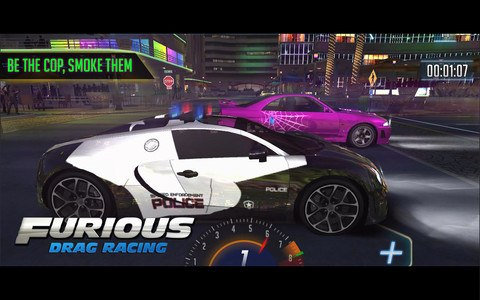 Furious 8 Drag Racing