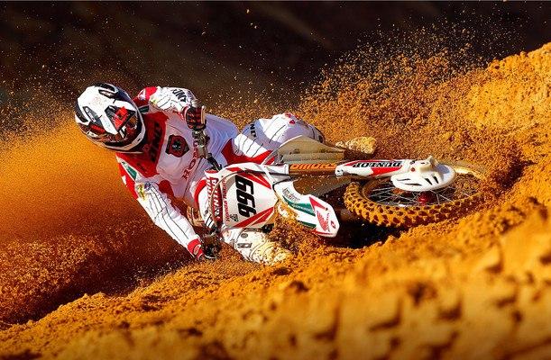 Honda Motocross Bike