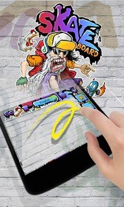 Skate GO Keyboard Theme