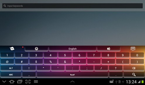 Keyboard Super Color
