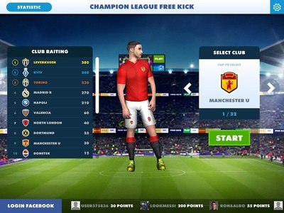 Champions Free Kick League 17