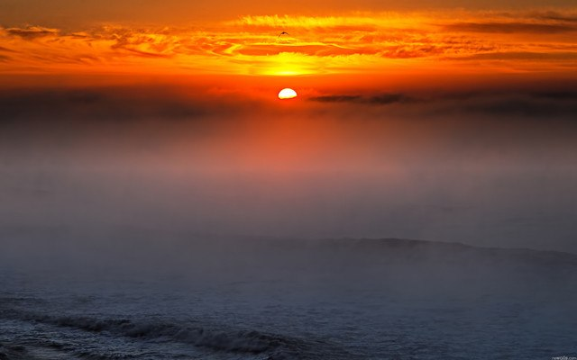 Sea Mist Sunset