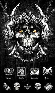 Black Night GO Launcher Theme