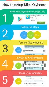 Panda Kika Keyboard Theme
