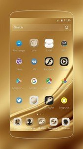 Gold Silk for Samsung Huawei
