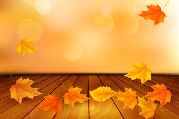 Autumn Room Vector