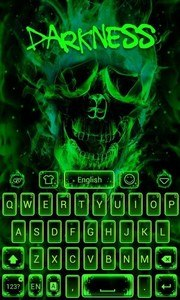 Darkness GO Keyboard theme