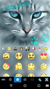 Love Cats Kika Keyboard
