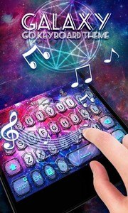 Galaxy GO Keyboard Theme Emoji