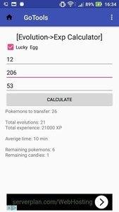 GoTools - Tool for Pokemon Go