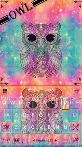 Owl Kika Emoji Keyboard Theme
