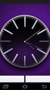 Live Wallpaper Black Clock