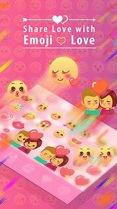 Emoji Love for Kika Keyboard