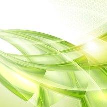 Green Abstract Vector