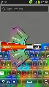 GO Keyboard HD Color