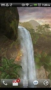 Jungle Waterfall LiveWallpaper