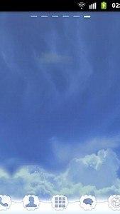 GO Launcher EX Theme Clouds