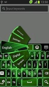 GO Keyboard Neon Green Free