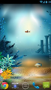 Underwater World Livewallpaper
