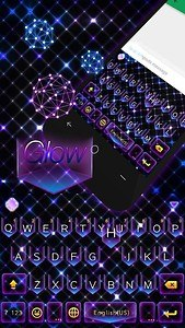 Glow Theme for Kika Keyboard