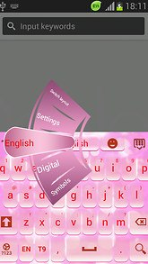Fairy Pink Keyboard