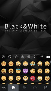 Black & White Keyboard Theme