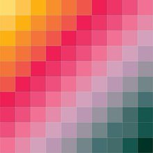Abstract Color Grid