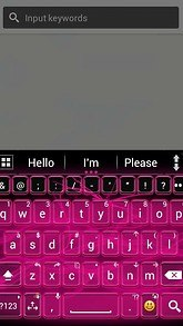 A.I.type theme pink neon א