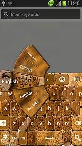 GO Keyboard Cheetah Theme Free