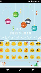 Emoji Keyboard-First Snow