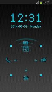 Digital Lock Screen
