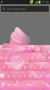 Awesome Pink Keys for Android