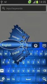 Blue GO Keyboard