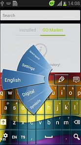 Colored Pages Keyboard