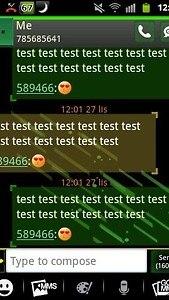 GO SMS PRO Theme Future 2