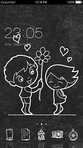 Blackboard Romance Theme