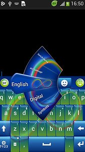 Infinity Keyboard Theme