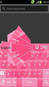 Pinky Keyboard Free
