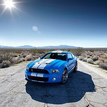 Ford Shelby GT500 In The Desert