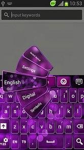 GO Keyboard Purple