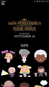 Miss Peregrine's Keyboard