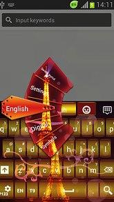 GO Keyboard Paris