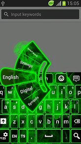 Keyboard Extension Neon