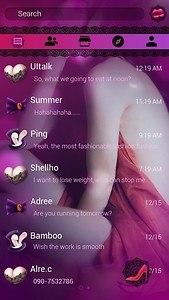 (FREE) GO SMS SEXYLADY THEME